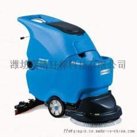 滨州洗地机,滨州拖线式洗地机,工厂车间用洗地机