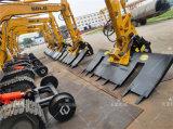 鐵路施工屬具 挖掘機鐵路施工設備