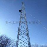 廠家定製避雷針塔、角鋼避雷針塔