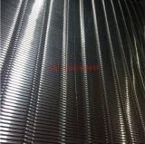 定制铝型材异形装饰网 波浪形铝板网天花幕墙