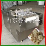 商用冷凍切牛鞭花機器-不鏽鋼輸送帶雙條切牛鞭花機