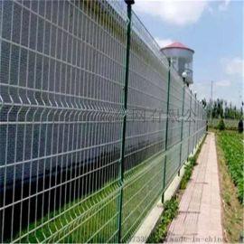 三角折弯护栏网/双边护栏网/圈地围栏网