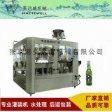 全自动碳酸饮料灌装机,等压含气灌装机,三合一灌装机设备