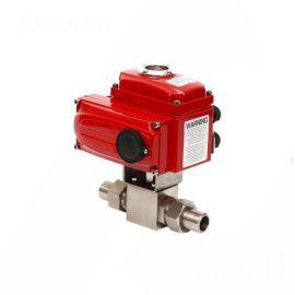 进口高压卡套电动球阀-高压-电动调节-电动开关