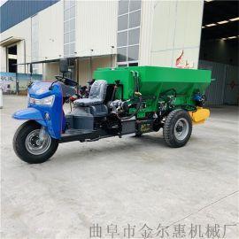 拖拉机牵引撒粪撒肥车 有机肥粪颗粒肥撒粪车