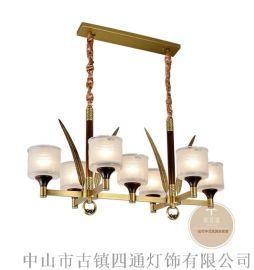 客厅新中式铜灯具-中式灯饰金祥彩票app下载-铜木源灯饰招商