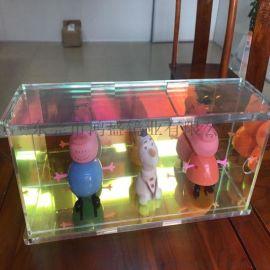 彩虹拼接手辦收納盒 亞克力七彩展示架