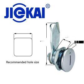 JK602-002 22mm锌合金圆柱锁 工具箱锁