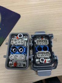 PIDIS品电-重载连接器,电路+气路多种组合型插座,厂家**