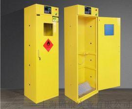 固银实验室钢瓶柜医院气瓶柜气体储存柜全钢气瓶柜