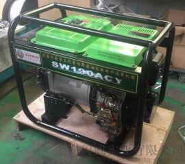便携式190A柴油发电电焊机