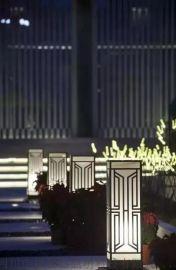 成都园林景觀燈 中晨小区景觀燈