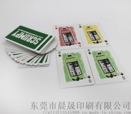 重庆广告、文化宣传类扑克牌定制工厂