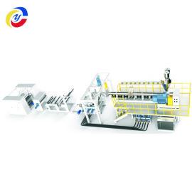 JNW120-1000单螺杆PP/PS片材生产线