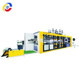 JY-820-600水果篮餐具全自动高速热成型机