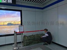 天桥建筑幕墙灰色1.5厚搪瓷钢板复合蜂窝铝板