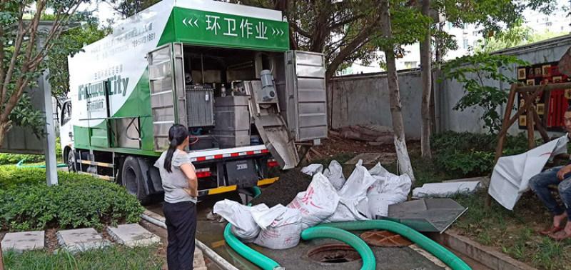 乾溼分離吸污淨化車 新型移動糞便脫水車