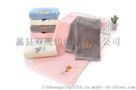 純棉童巾/32股兒童毛巾/面巾/可定製logo