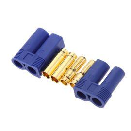 航模插头EC8 EC5 EC3 EC2香蕉镀金插头大电流动力电池组可焊接