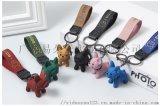 爆款链条犬手绳扣创意精品钥匙扣包包挂件
