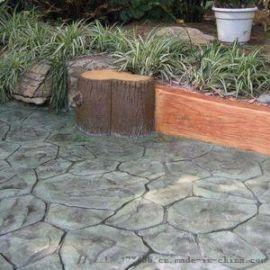 彩色透水混凝土,艺术压模地坪技术