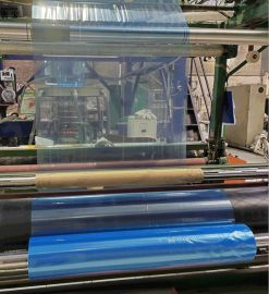 PE蓝膜 大规格蓝色PE保护膜 定制铝合金门窗蓝膜