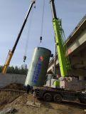 玻璃鋼一體化預製泵站 優秀生產工藝保證了性能的完善