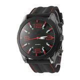外貿工廠直銷新款戶外運動矽膠錶帶石英防水手錶
