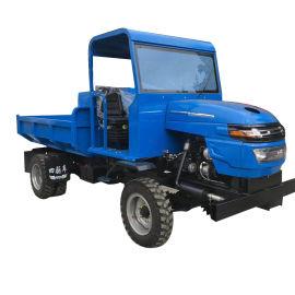小型矿石运输四轮车柴油四不像工程液压自卸四不像