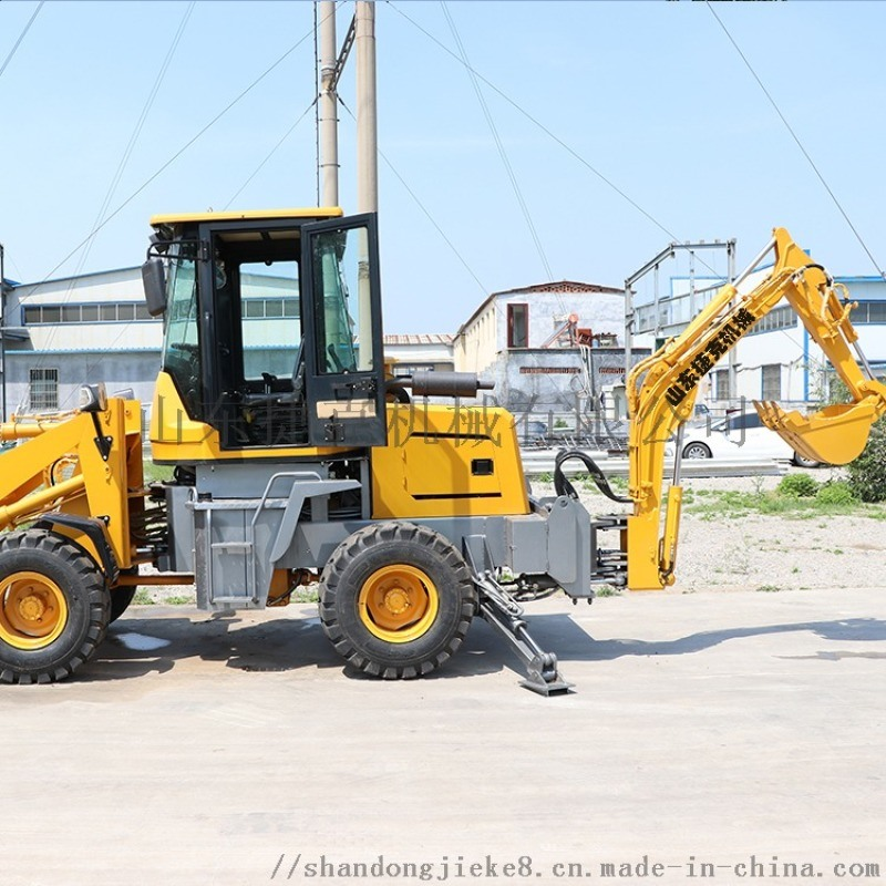 捷克兩頭忙 20挖掘裝載機 輪式前挖後裝機械