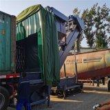 湖南集裝箱卸灰機 自動翻箱倒料設備 散水泥拆箱機