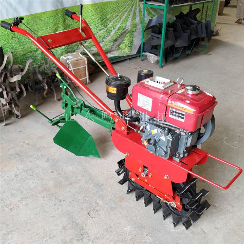 小红牛烟地开沟培土机, 单轮履带式培土机