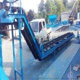 裝卸車帶式輸送機 飼料顆粒槽型皮帶機LJQC
