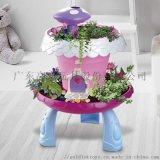 神奇魔法小屋童話花園 DIY過家家 盆栽 種花玩具