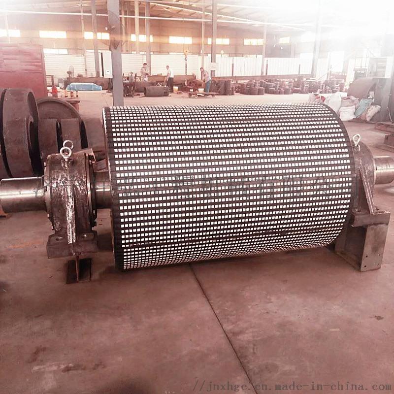 包膠驅動滾筒總成,DSJ驅動滾筒,聚氨酯驅動滾筒