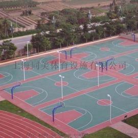 诸暨学校塑胶跑道球场地胶硅pu建造专业设计制造