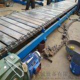 板鏈輸送機結構圖 鏈板輸送機標準 六九重工 滾輪送
