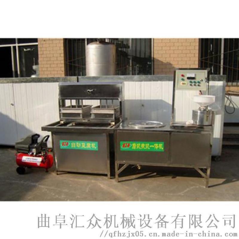 山东仿手工豆腐机 卤水点豆腐胶体 利之健lj 做干