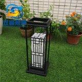 方管烤漆柱頭燈定製仿雲石簡約草坪燈直銷中式柱頭燈