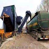 通畅集装箱粉煤灰卸车机 水泥粉拆箱机 翻箱卸灰机