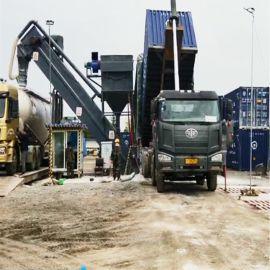 集装箱卸灰机 环保水泥熟料卸车机 码头翻箱卸灰设备