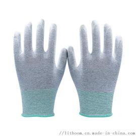 水性PU浸掌手套 无DMF 无痕手套