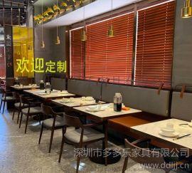 西餐厅大理石甜品店家具餐桌椅 咖啡店餐桌