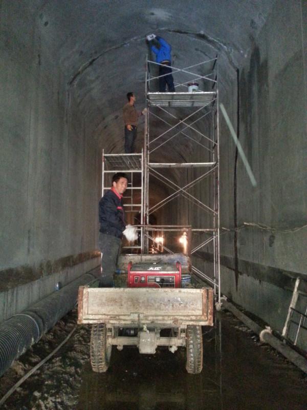 地下车库变形缝堵漏处理