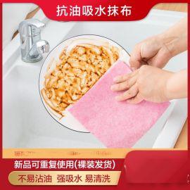 洗碗布不粘油抹布