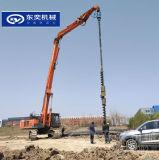 螺旋鑽頭 20噸挖機帶打樁引孔的鑽機頭