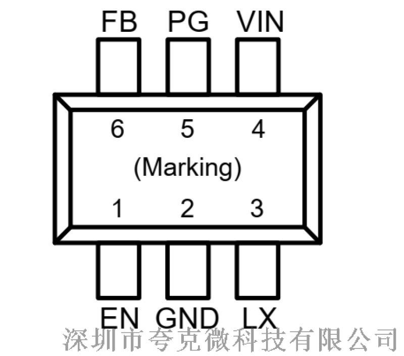 代理FP6373A降压高效率3A芯片
