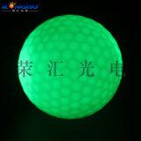 led发光高尔夫球有灯练习球夜场练习快销品