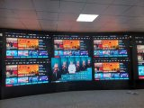 供应广东指挥中心小间距高清LED弧面大屏