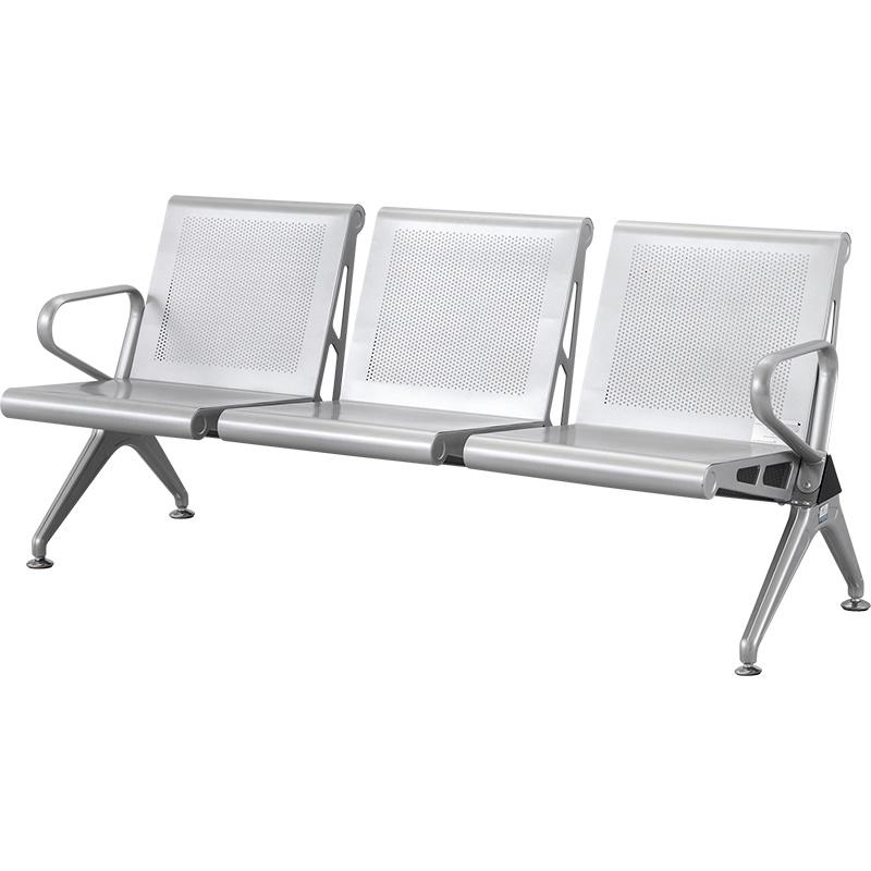 SKE008-1 候诊椅 不锈钢排椅 银行连排椅